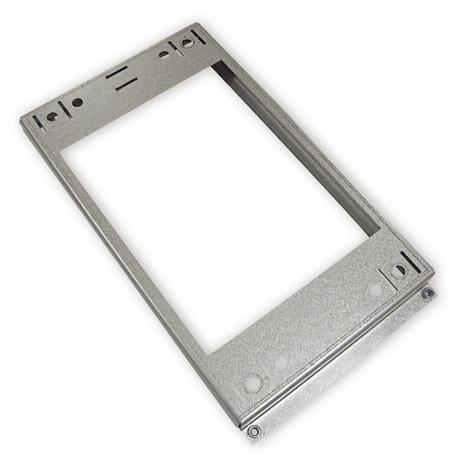 Plaque de métal pour montage